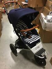 Mountain Buggy Urban Jungle Luxury Collection Baby Stroller with Bag in Nautical