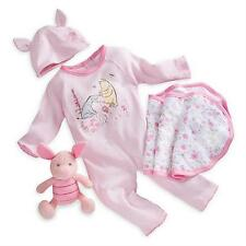 Wnnie the Pooh Layette Gift Set with Piglet Welcome Home Baby Disney 12-18 Month