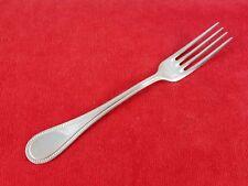 "Dinner Fork PERLES by Christofle Hotel Silverplate Flatware Silverware 8 1/4"""