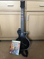 Xbox 360 Guitar Hero 3 leyendas del rock juego y Gibson Guitarra inalámbrica