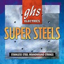 """ghs,""""Super Steel"""" Saitensatz für E-Gitarre, 9er, I1"""