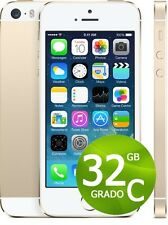 APPLE IPHONE 5S 32GB GOLD ORO + ACCESSORI + GARANZIA 12 MESI - BIANCO 32