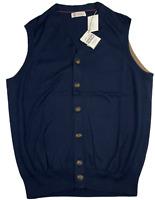 Brunello Cucinelli Strickweste West Veste Jacke Jacket Cardigan Knitwear New 58
