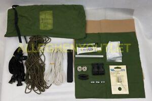 US Military USMC Eureka Marine Combat Tent Repair Kit OD Green LN