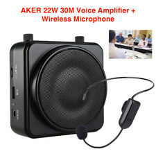 MR2500 22W Bluetooth Voice Amplifier with FM 30M Wireless Microphone Fit Guide