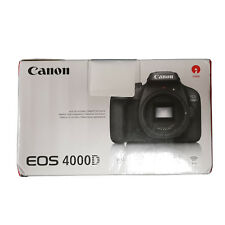 Canon EOS 4000D DSLR Camera Body 1 Yr Manufacturer Warranty Next Day UK Delivery