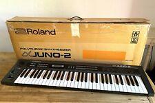 Roland Alpha Juno 2 - Analoger polyphoner Synthesizer (no Juno 106, Juno 60)