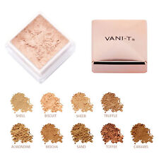 Vani-T  Mineral Powder Foundation SPF15+, 15g - All Shades Free AU POST