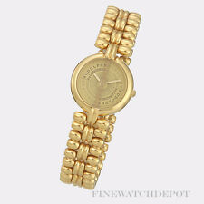 Authentic Rodolphe Longines Gold Tone Ladies Watch