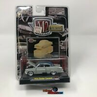 M2 Machines by M2 Collectible Auto-Thentics 1954 Dodge Coronet 08-33 Light Gray//Blue Top Details Like NO Other!