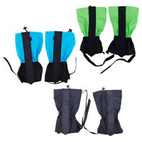 1 Pair Waterproof Outdoor Snow Legging Gaiters Ski Gaiters for Hiking WalkiW7I3