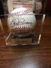 Eric Davis Signed/autographed Baseball