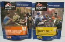 (2) Mountain House Foods Freeze Dried Emergency Survival 2 Pack Variety L@K Now