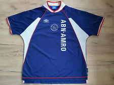 AJAX AMSTERDAM! 1999! shirt trikot maglia camiseta kit jersey! 6/6 ! 2XL -adult@
