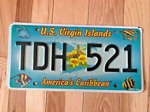 US Virgin Islands (USVI) Fish License Plate