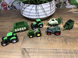 Siku John Deere Krone Tractors job lot