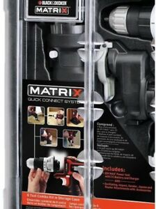 Black&Decker BDCDMT1206KITC Matrix 6 Cordless Combo Tool Kit NIB SHIP FROM STORE