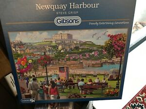 Gibsons 1000 Piece Jigsaw Newquay Harbour.