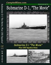 Submarine D-1, The Movie Plus the USS Squalus Disaster