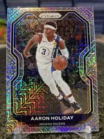 2020-21 Prizm #74 Aaron Holiday Rare Mojo Prizms Refractor SSP /25 Pacers!!!