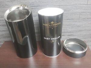 MOET CHANDON METAL CHAMPAGNE BOTTLE COOLER ICE BUCKET ISOTHERM BRAND NEW PUB/BAR