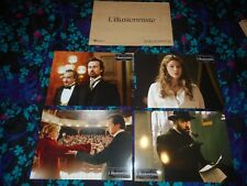THE ILLUSIONIST - 8 ORIGINAL FRENCH LOBBY CARDS - JESSICA BIEL - 2007