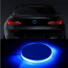 1pcs 82mm Blue Emblem LED Background Light For BMW 3 4 5 6 7 X M Z Series