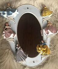 The Bradford Exchange Disney Princess Mirror With Dolls! New! Beautiful!