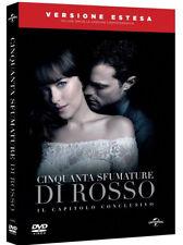 50 CINQUANTA SFUMATURE DI ROSSO (DVD) Edizione Speciale Digibook VERSIONE ESTESA