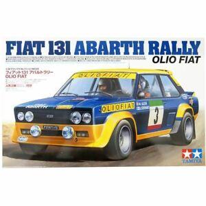 Tamiya 1/20 Fiat 131 Abarth Rally Olio Fiat Kit (New)