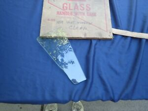 1959 Ford Galaxie vent window glass, NOS! B9A-6421412-A
