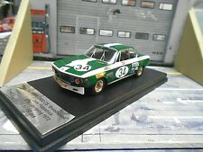 BMW 2800 CS Coupe Nürburgring 1972 Broadspeed #34 Fitzpatrick Elan Trofeu 1:43