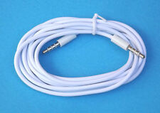2X M/M 3.5mm Audio Cable Aux Male to Male Cord Lead iPhone 5 5C 5S 4 3 iPod 1M