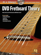 Fretboard Theory Guitar At a Glance Learn to Play Music Lessons Tab Book DVD NEW