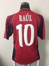 RAUL #10 Spain Home Football Shirt Jersey 1998/99 (M)