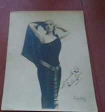 New ListingAntique Hollywood Photo Silent Movie Actress signed photo by Carpenter La