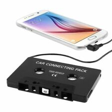 CAR Audio Tape Cassette Adattatore iPhone iPod MP3 Cd Radio Nano 3.5 mm jack AUX UK