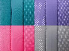 Stoff Jersey Kinder Baumwolle elastic Sterne Punkte Pünktchen 14 Farben bicolor