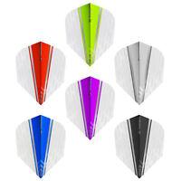 Target Vision Ultra White Wing Flights Set of 3 Man Cave Bar Birthday Gift