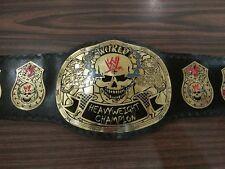 WWE Stone cold Smoking Skull World Heavyweight Wrestling Champion Replica Belt