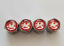 4PCS Anti-theft VAUXHALL LOGO Car Badge Dust Cap