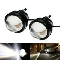 2X Xenon White 5W High Power Bull Eye DRL Fog Super Light Daytime Driving Light^