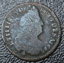 1698 NEW FRANCE - 1 LIARD - COPPER - Louis XIV - Nice - USED in Early CANADA