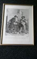 "Exclusive Lithografie ""Der Limonadenhändler"" (Paris 1830)"