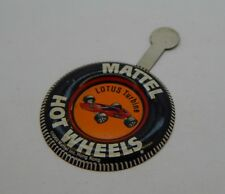 Redline Hotwheels Button Badge Metal Hong Kong Lotus Turbine R17134