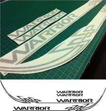 Mitsubishi L200 Warrior tribal Replacement side rear decals stickers graphics