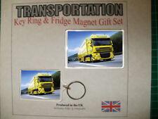 DAF  Truck Key Ring & Fridge Magnet Set