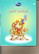 DISNEY LITERATURE CLASSICS 5 - DUCK QUIXOTE BOOK DISNEYS