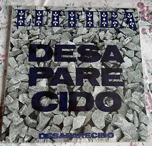 Litfiba - Desaparecido (black Vinyl Sealed,sigillato,fuori Catalogo )