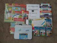 Pre-School (3-4yrs): Homeschool Curriclum Box : phonics :basic skills ;math; ELA